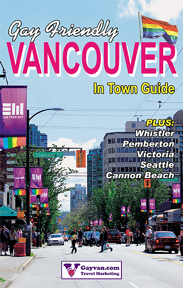 Gay Vancouver regional travel and entertainment guide