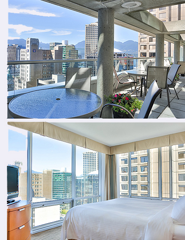 Lend Yourself To Luxury At The Delta Hotels Vancouver Downtown Suites Located In Heart Of And Convenient Vibrant Nearby